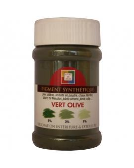 Pot contenant 250ml de pigment vert Olive