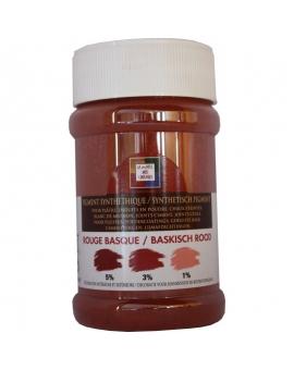 Pot contenant 250ml de pigment rouge Basque