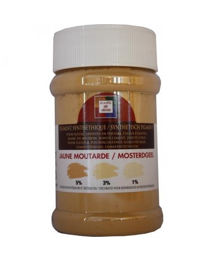 Pot contenant 250ml de pigment jaune Moutarde