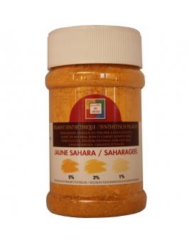 Pot contenant 250ml de pigment jaune Sahara