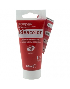 Tube contenant 50ml de colorant IdéaColor Rouge 2014.