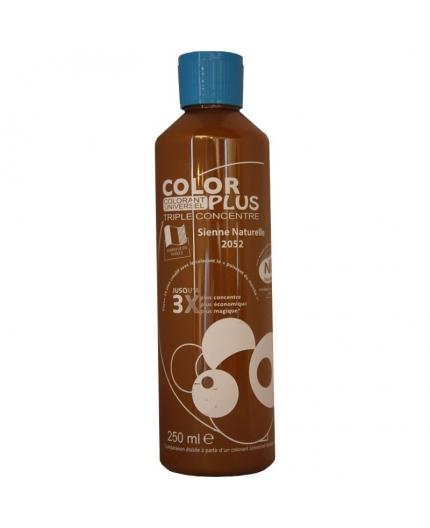 Bouteille contenant 250ml de colorant ColorPlus sienne naturelle.
