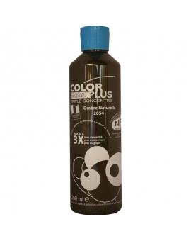 Bouteille contenant 250ml de colorant ColorPlus ombre naturelle.