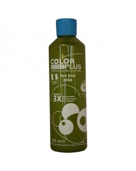 Bouteille contenant 250ml de colorant ColorPlus vert anis