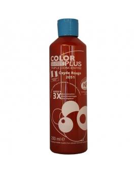 Bouteille contenant 250ml de colorant ColorPlus rouge 2051.