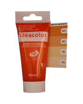 Tube contenant 50ml de colorant IdéaColor jaune bouton d'or 2003.