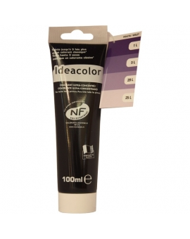 Tube contenant 100ml de colorant IdéaColor violet 2026.