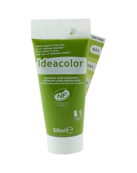 Tube contenant 50ml de colorant IdéaColor vert frais 2046.
