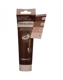 Tube contenant 100ml de colorant IdéaColor ombre calciné 2055.