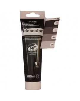Tube contenant 100ml de colorant IdéaColor noir 2070.