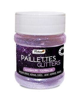 Pot de 80g de Paillettes Glitters Tourmaline