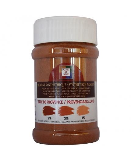 Pot contenant 250ml de pigment Sienne Naturelle